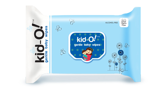 Kido Gentle Baby Wipes Blue From Papier For Babies