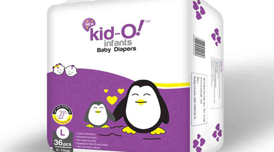 Kido-Infants-Diapers-L-Size