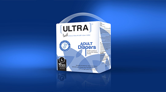 Ultra Brand Adult Diapers L Size