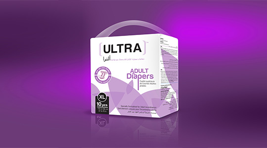 Ultra Brand Adult Diapers XL  Size