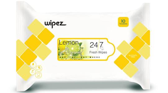 Freshen-Up-Wipes-Lemon-fragrance-Wet-Tissues-Papier