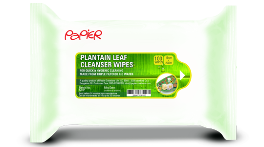 Plantain-Leaf-Cleanser-Wipes-Papier-Creations