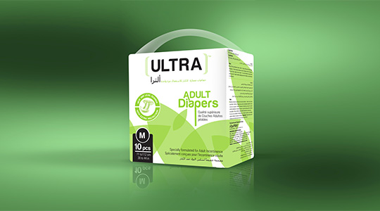 Ultra Brand Adult Diapers M Size